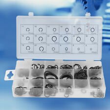 225pc Internal & External Retaining Ring Lock Snap Assortment Box Set 18 Size GL