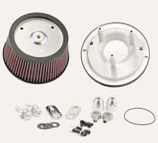 R&R Cycles High Flow Air Cleaner Kit For 45MM Mikuni Flat Slide Carburetor