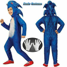 Halloween Kid's Boy's Fancy Dress Cosplay Sonic The Hedgehog Jumpsuit Costumes