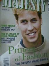 Majesty Magazine V21 #12 William & Young Royals Fashions, Sandringham Christmas