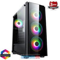 Ryzen 5 5600X Six Core 4.6GHz  Gaming PC NVMe B550 Tornado RTX 2060 6GB ry21