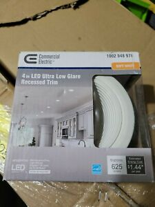 Lot of 2 Commerical Elec Ultra Low Glare 4 in. 3000K Soft White Int.LED