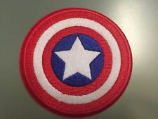 """CAPTAIN AMERICA SHIELD HERO Patch - Embroidered Iron On Patch 3 """" USA"""