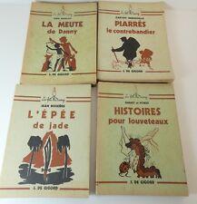 """Lot  4 livres scoutisme de la collection """"Le feu de camp"""": Boixiere, Gurney/ aa"""