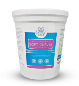 Pure Antarctic Krill Oil Shed Free Soft Chews for Pets - Itchy Skin Relief