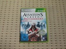 Assassin's Creed Brotherhood pour xbox 360 xbox360 * OVP * C