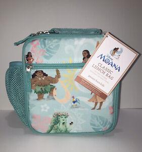 Disney Moana ClassIc Lunch Box Bag Pottery Barn Kids Pocket Aqua Movie