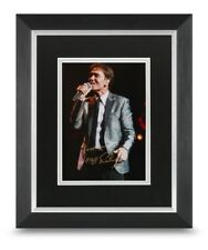 Sir Cliff Richard Signed 10x8 Framed Photo Display Music Autograph Memorabilia