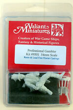 Valiant Miniature 54mm Hobby Kit# 9501 - Professional Gambler - Resin