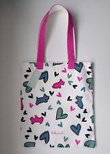 RADLEY-Love me encanta mi perro-algodón Canvas Tote/compradores Bolsa-Perros & Corazones