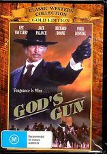 God's Gun (DVD) REGION FREE - BRAND NEW SEALED - FREE POST!