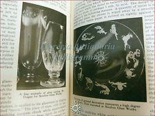 LAVORAZIONE VETRO - Scholes, MODERN GLASS PRACTICE 1946 Chicago illustrazioni