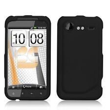 Hard Rubberized Case for HTC Droid Incredible 2 - Black