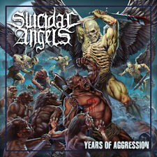 "Suicidal Angels : Years of Aggression VINYL 12"" Album (Gatefold Cover) (2019)"