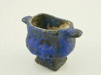 Lava Keramik - Vase / Schale von Vest Gouda. Niederlande.