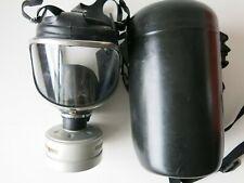 Drager Draeger Panorama Nova EPDM Full Face Rubber Mask Respirator + Case VGC