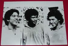 PHOTO PRESSE FOOTBALL 1982 SALVADOR ESPANA 82 HUEZO ZAPATA &JOVEL ESPAÑA