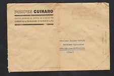 """SAINT-CLOUD (92) USINE de POMPES """"Ets. GUINARD"""" voyagée en 1946"""