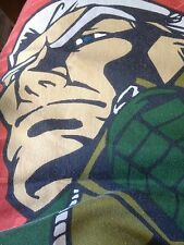 euc Small Soldiers army/cartoon/character Pillowcase standard size 1998 fabric