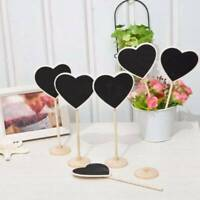 34cm Tall Chalkboard Wooden Table Stand Numbers Place Cards Party Wedding Cafes