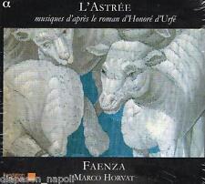 L'astree - Musiques D'apres Le Roman D'honore D'urfe / Horvat, Ensemble Faenza