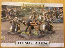 Age of Sigmar - Soul Wars Stormcast Eternal Celestar Ballista Warscroll Incl.