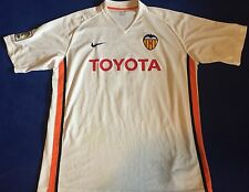FC Valencia Home Trikot 06/07 #6 Albelda Gr. XL