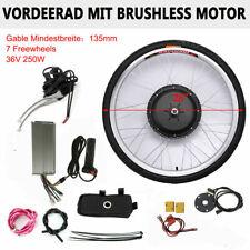 "28"" Vorderrad Frontmotor E-Bike Conversion Kit Elektrofahrrad Umbausatz 36V 250W"