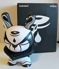 "KIDROBOT 8"" Dunny THE HUNTED in Black & White - Designed by COLUS HAVENGA"