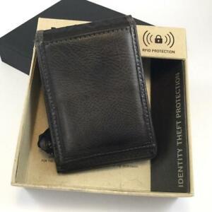 Kenneth Cole Reaction Gents Wallet Credit Card Holder Grey / Mushroom Colour