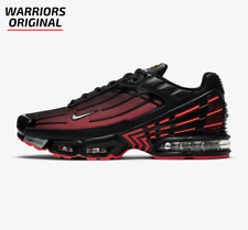 Nike Air Max Plus 3 Negro Rojo Gris Lobo Radiante Para hombre Zapatillas Tamaños Disponibles