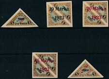 [37443] Estonia 1923 Good airmail set Very Fine MH stamps V:$225