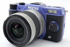 Pentax Q10 12.4MP 5-15mm Lens Kit Purple [Exc w/Box,8GB SD Card,Strap [814]