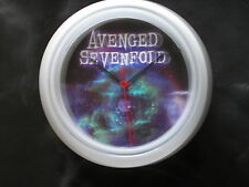AVENGED SEVENFOLD  ONE OF A KIND WALL CLOCK LIMITED EDITION 1 ONLY!!