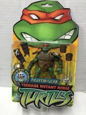 Playmates Tartarughe Ninja Turtles SET di 4 FIGHTIN/' GEAR Action Figure MOC,2005