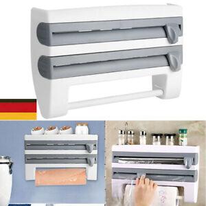 Multifunktionale Küchenfolie Sauce Flasche Lagerregal Papierspender DIY Tool DHL