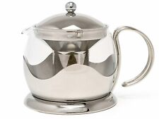 La Cafetiere TM980000 Stainless Steel 4 Cup Le Teapot & Removable Infuser Silver