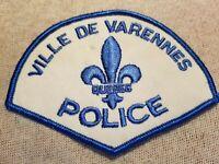 Ca Ville de Varennes Canada Police Patch