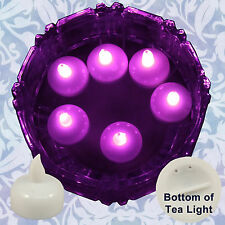 New 18 Pink Led Floating Floral Tea Ligh 00004000 t Candle for Wedding Centerpiece Decor