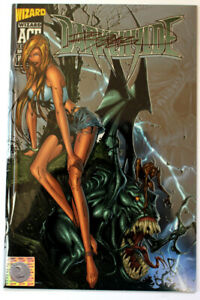 WIZARD Ace Edition DARKCHYLDE #22 signed by RANDY QUEEN with COA!