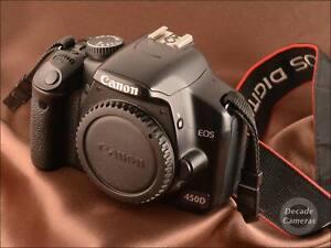 Canon 450D 12.2MP Digital Camera inc Battery - VGC - 716