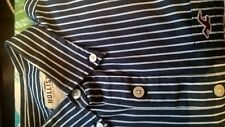 Men's Hollister long sleeved blue and white striped shirt. Reduced to £9.99