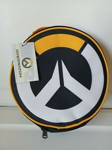 Overwatch Logo Lunch Box Insulated Bag by Loungefly Yellow Black And White