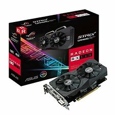 New Asus ROG Strix Radeon RX 560 4GB Gaming GDDR5 DP HDMI DVI AMD Graphics Card