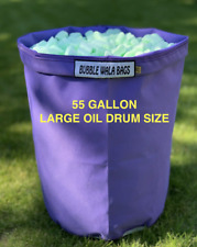 More details for 55 gallon bubble bag - oil drum size micron mesh filter bag herb resin ice trim