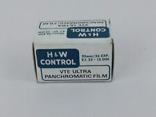 Rare H&W Control VTE Ultra Panchromatic EXPIRED 35mm Film from 1974