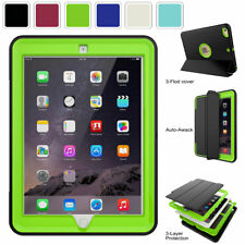 """For Apple iPad 5th 6th Gen 2018 9.7"""" Tablet Screen Protector Smart Folding Case"""