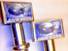 2 Dallas Cowboys Metal Cribbage Board Pegs With FREE Black Velvet Pouch USA b
