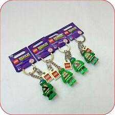 # Lego Teenage Mutant Ninja Turtles keychains key ring full set New Genuine Rare