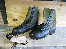 Us Gi Style Green Jungle Combat Boots New Us Made {8W}